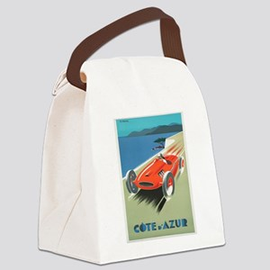 Vintage poster - French Riviera Canvas Lunch Bag