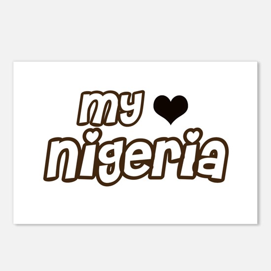 My Heart Nigeria Postcards (Package of 8)
