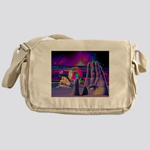 Psychedelic Occult All Seeing Eye Il Messenger Bag