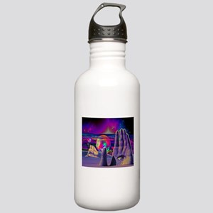 Psychedelic Occult All Stainless Water Bottle 1.0L