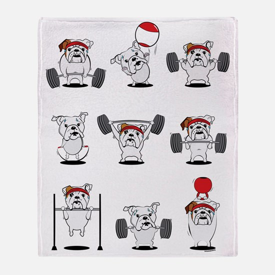 Unique Workout Throw Blanket