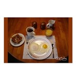 Saturday Eggs Postcards (Package of 8)