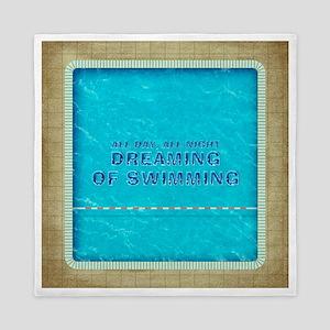 Dreaming of Swimming Queen Duvet
