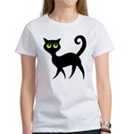 Cat With Green Eyes Women's T-Shirt