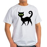 Cat With Green Eyes Light T-Shirt