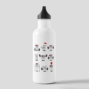 Crossfit Bulldogs Water Bottle