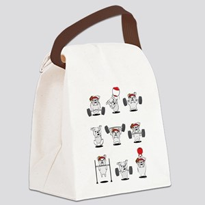 Crossfit Bulldogs Canvas Lunch Bag