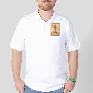 Vintage poster - Egypt Golf Shirt