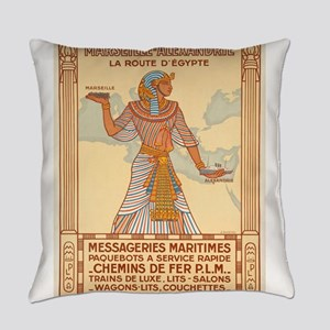Vintage poster - Egypt Everyday Pillow