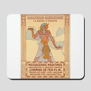 Vintage poster - Egypt Mousepad