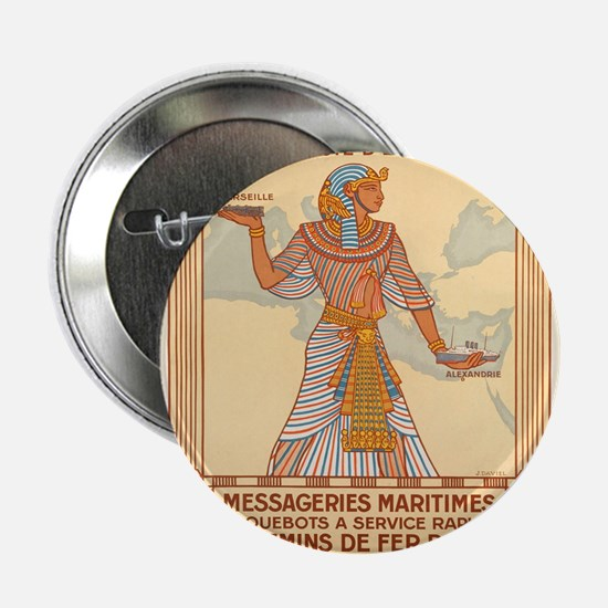 """Vintage poster - Egypt 2.25"""" Button (100 pack)"""
