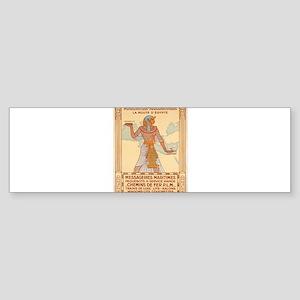 Vintage poster - Egypt Bumper Sticker