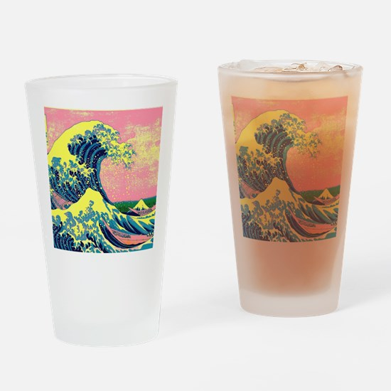 Cool Psychedelic Drinking Glass