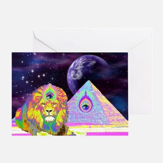 Cute Pyramid Greeting Card