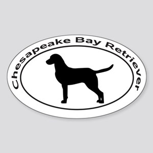 CHESAPEAKE BAY RETRIEVER Sticker (Oval)