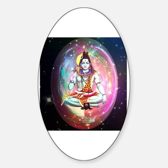 Unique Hindu Sticker (Oval)