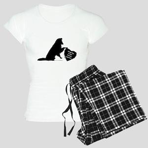 Therapy Heart Black Pajamas