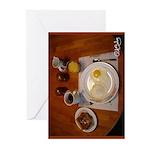 Saturday Eggs Greeting Cards (Pk of 10)