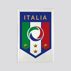 Italian Soccer emblem Rectangle Magnet