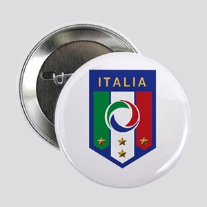 Italian Soccer emblem Button