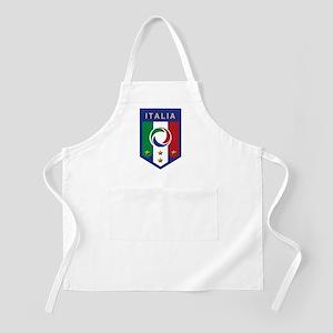Italian Soccer emblem BBQ Apron