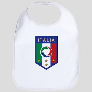 Italian Soccer emblem Bib