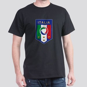 Italian Soccer emblem Dark T-Shirt