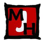 MJH Throw Pillow
