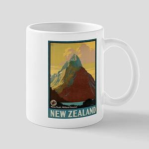 Vintage poster - New Zealand Mugs