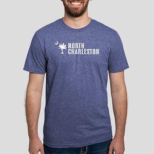North Charleston, South Car Mens Tri-blend T-Shirt