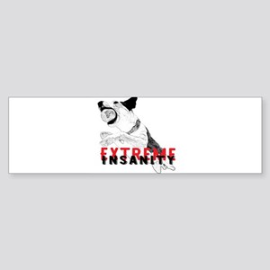 Extreme Insanity light Bumper Sticker