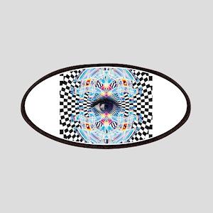 Psychedelic Eye Trippy Third Eye EDM Rave Op Patch