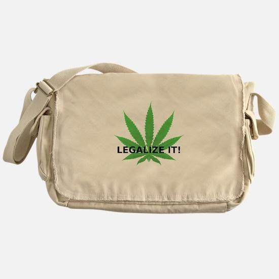 Legalize It! Messenger Bag