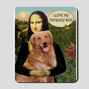 Mona/Golden Therapy Mousepad