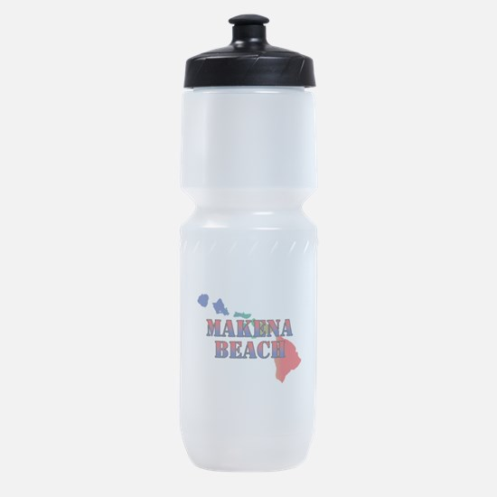 Makena Beach Hawaii Sports Bottle