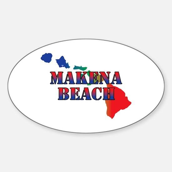 Makena Beach Hawaii Decal