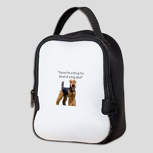 Airedale Terrier Stubborn Sayings Neoprene Lunch B