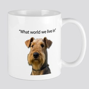 Airedale Terrier Stubborn Sayings Mugs