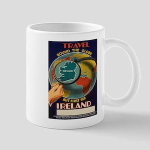Vintage poster - Ireland Mugs