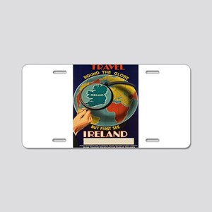 Vintage poster - Ireland Aluminum License Plate