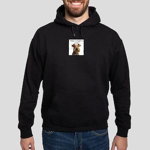 Airedale Terrier Stubborn Sayings Hoodie