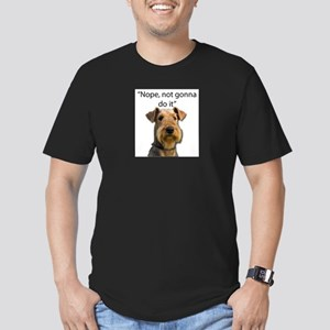 Airedale Terrier Stubborn Sayings T-Shirt