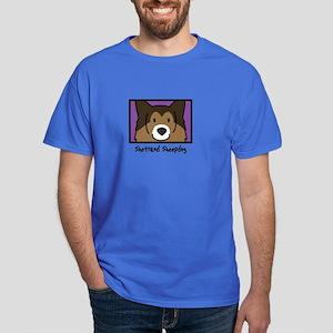 Anime Sheltie Dark T-Shirt