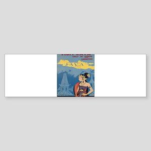 Vintage poster - Java Bumper Sticker