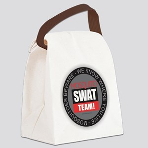 Mosquito Swat Team Canvas Lunch Bag