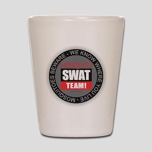 Mosquito Swat Team Shot Glass