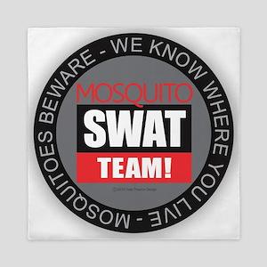 Mosquito Swat Team Queen Duvet