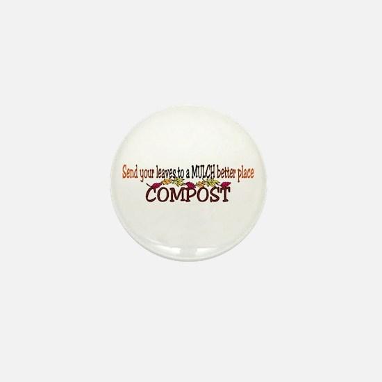 Mulch Compost Mini Button