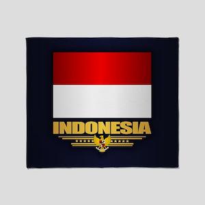 Indonesia Throw Blanket