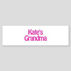 Kate's Grandma Bumper Sticker